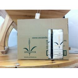 Farine d'escanda blanc ou boîte d'épeautre 12 kg